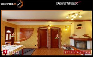 3D vizualizácia reštaurácie